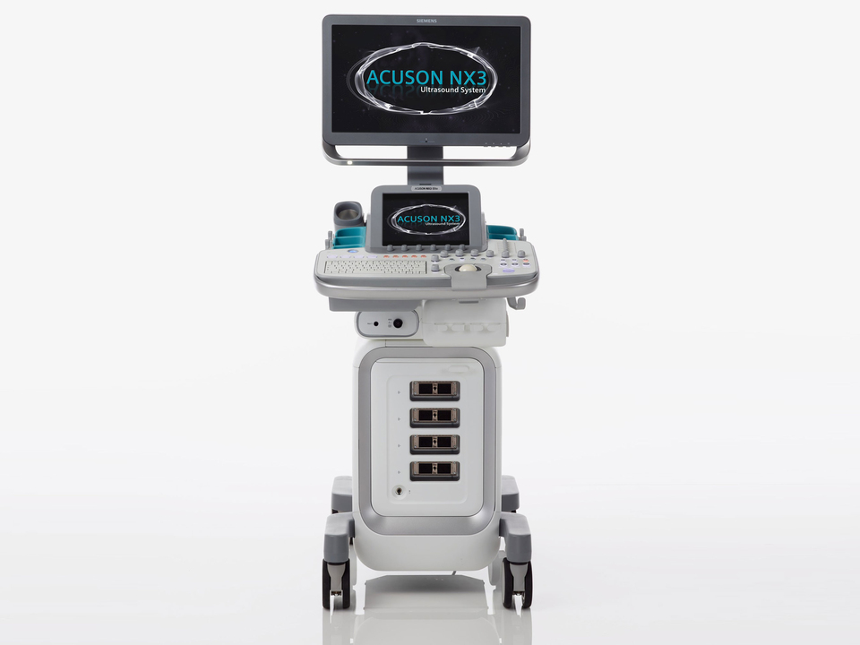 Scan smarter with the Siemens Acuson NX3 ultrasound system