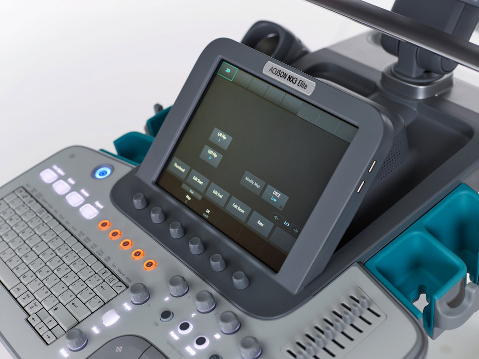 Siemens Acuson NX3 Ultrasound Intuitive Touch Display