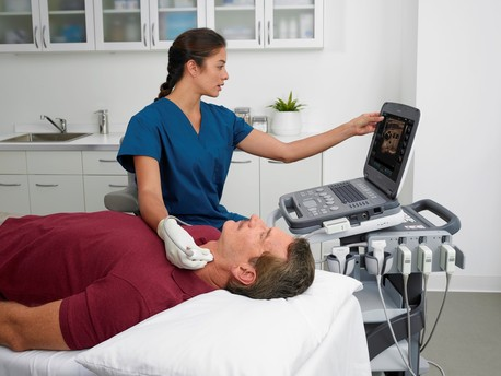 Siemens Acuson P500, high quality of care and ultrasound imaging anytime, anywhere